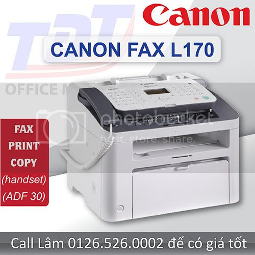 Fax Canon L170 - My fax a nng Canon gi tt nht